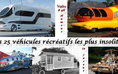 VR, véhicules récréatifs… vidéo les 25 plus insolite camper