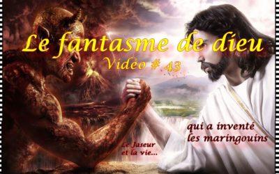 Le fantasme de dieu et les maringouins, le diable est-il toujours utile